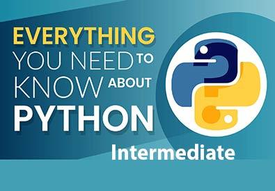 برنامه نویسی پایتون متوسط( Python 3.7/intermediate )