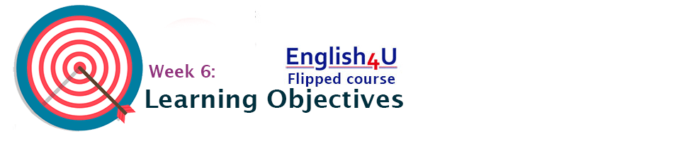 Learning objectives 6